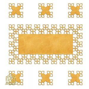 رومیزی زیر لیوانی چرم مصنوعی شیک