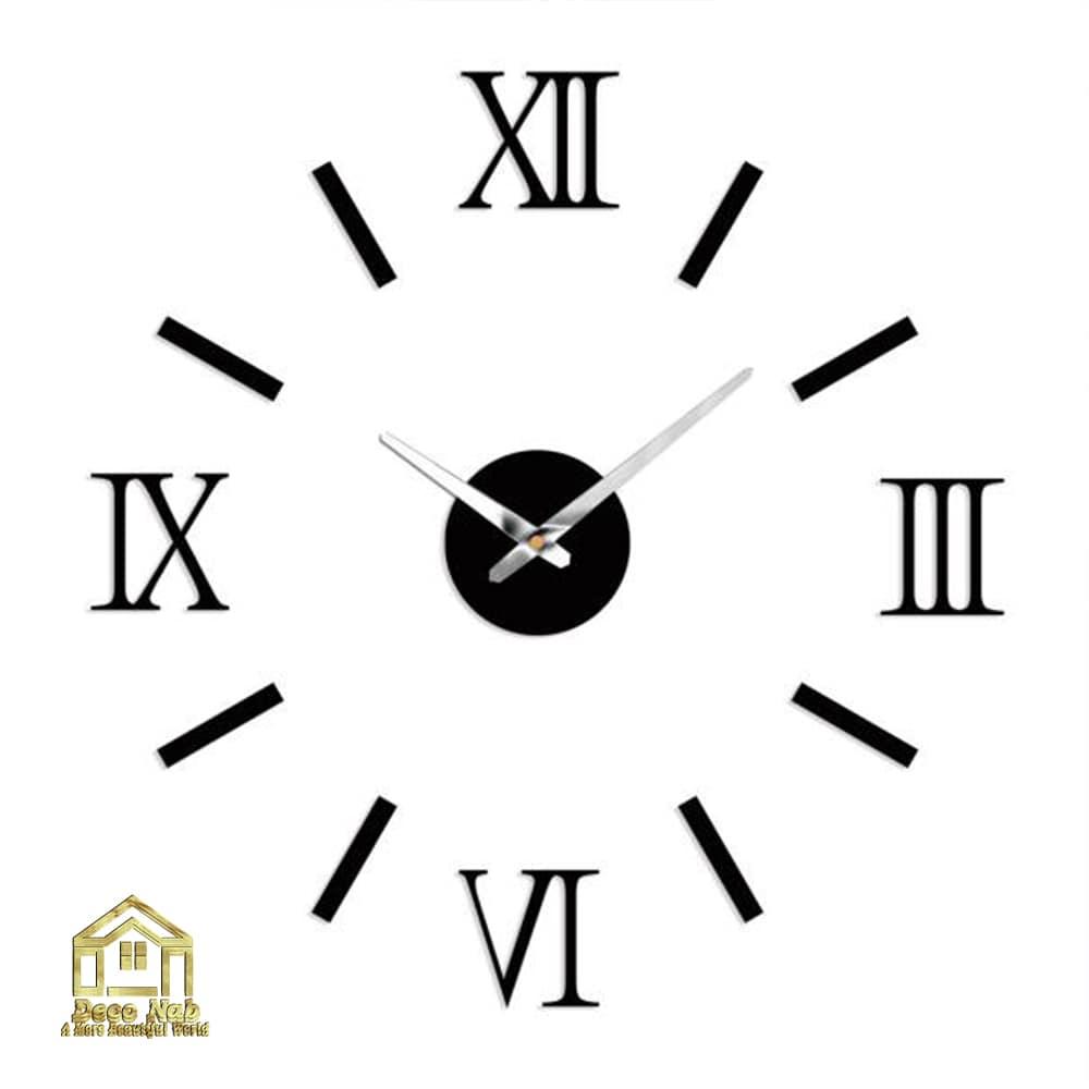 ساعت دیواری پازلی رومی زیبا باکیفیت