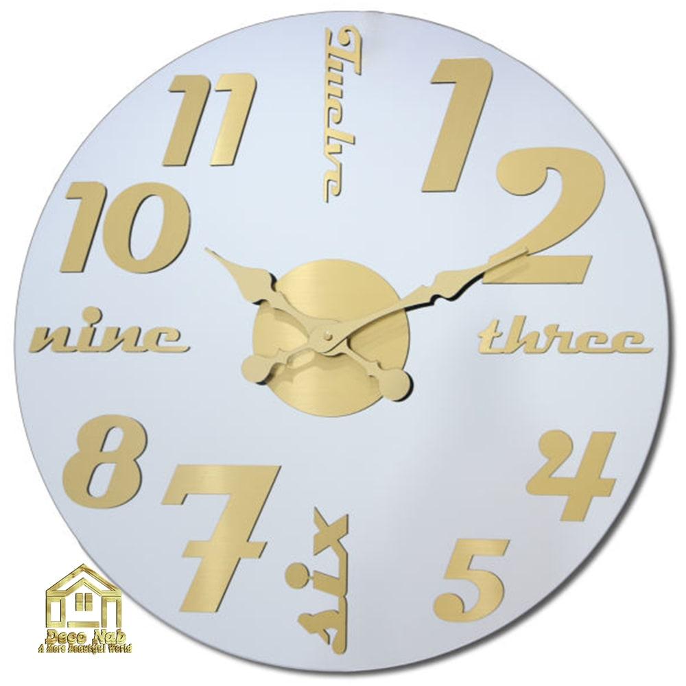 ساعت دیواری لوکس گلکسی سیلور باکیفیت